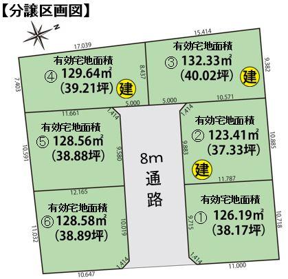 区画図(楚川)
