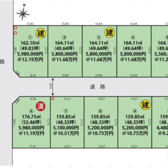210301区画図(五泉市緑町)